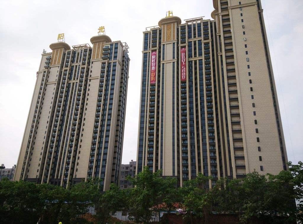 武汉阳光上城粉刷石膏砂浆工程案例